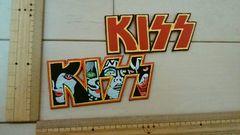 ��102 アイロンワッペン キッス KISS