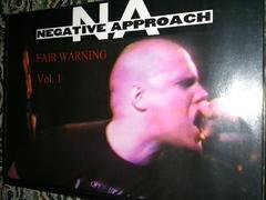 Negative approach/Fair warning vol 1 80s US Hardcore