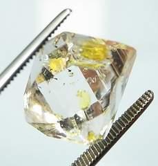 美しくも、面白く珍しい水晶 オイルインクォーツ★3686