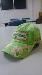 宇多田ヒカル ピンクパンサー 後ろや横刺繍かっこいい帽子