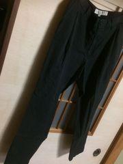 ユナイテッドアローズ*きれいめカジュアル黒パンツS*クリックポスト185円