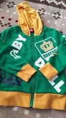 ベビードール BABYDOLL フード付きジップパーカージャケット 薄手 110