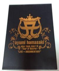"""『ASIA TOUR 2007 A〜Tour of Secret〜""""LIVE+DOCUMENTARY""""』"""