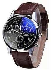 メンズ腕時計GENEVA文字盤は綺麗なメタリックブルーです!