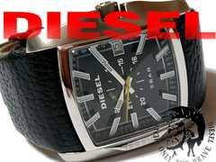 良品 1スタ★DIESEL ディーゼル ベルト一体型 メンズ腕時計