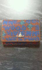 ヴィヴィアンロゴ柄2つ折り財布