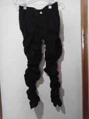 BODY LINE/ボディラインシャーリングパンツ《L》 黒☆送料400円