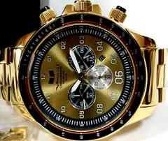 極美 超大型VESTAL クロノグラフ Dragon Ash,SiM使用 腕時計