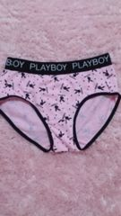 ☆.。.*pink プレイボーイ パンツ M*.。.☆