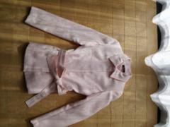 桜色のジャケット セレブ風 紐付き美品