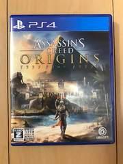PS4 アサシンクリード オリジンズ  中古美品 送料込み