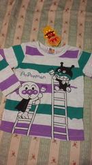 1円新品アンパンマン長袖 Tシャツ定価\1728ばいきんまん
