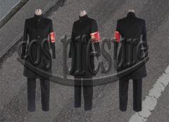 家庭教師ヒットマンREBORN! 草壁哲矢 黒◆コスプレ衣装