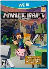 ■新品■ WiiU MINECRAFT (マインクラフト) Wii U EDITION