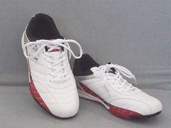 LARKINS(ラーキンス) カジュアルスニーカー 6236 26.0cm 白/赤