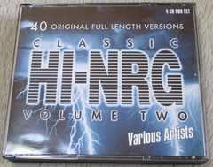 CLASSIC HI NRG VOL2 4CD 80sディスコ ハイエナジー