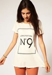 WILD FOX☆LOVE POTION No.9白Tシャツ