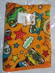 アンパンマンキャラクターお昼寝毛布85×120センチオレンジ