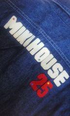 ミキハウスデニムシャツ140美品