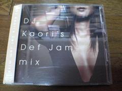 DJ KAORI CD「DJ Kaori's Def Jam mix」●