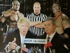 WWE レッスルマニア 23 DVD/アメリカ大統領ドナルドトランプ試合  アメトーーク 芸人