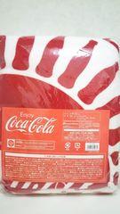 コカ・コーラ ラウンドタオル 瓶シルエット 非売品