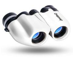 双眼鏡10x22 ホワイト