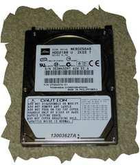 ◆TOSHIBA◆2.5インチHDD SATA 80GB NO.D2
