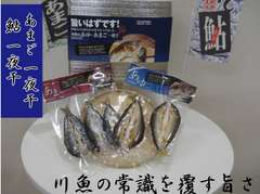 【送料無料】あゆ あまご一夜干 紀州南高梅酢使用 5尾セット