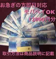 土日もOK 即日対応 VJAギフトカード 12000円分