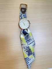 nicoand☆大人気のスカーフ時計☆美品完売