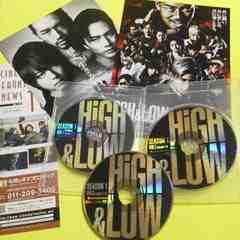 DVD3枚HiGH & LOW SEASON 1 完全版岩田剛典/登坂広臣/鈴木伸