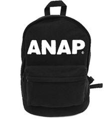 新品ANAP☆ロゴ リュック 黒 バックパック アナップ