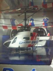 ヘリコプター ラジコン Doctor Heli ドクターヘリ 室内専用 ホワイト レッド