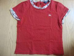 バーバリー 半袖トップス 赤 サイズ140
