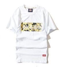 Dickies 半袖Tシャツ Mサイズ 白 yel