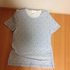 セリーヌのTシャツマダカム模様、サックス&白>M