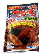 沖縄の味じまん骨なし てびち 165g N78-2