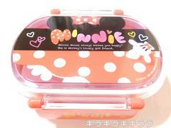 ミニーマウス(パーツ)便利な中子2個付き★密封ランチボックス/弁当箱