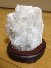 ☆水晶突鉱☆天然石置物☆