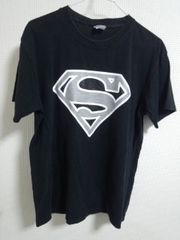 スーパーマン Tシャツ ブラック