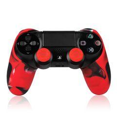 プレイステーション4 コントローラー シリコン カバー PS4