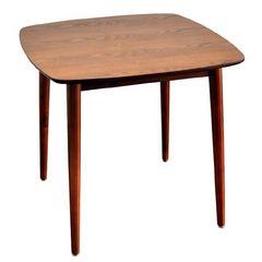 木製ダイニングテーブル DT-7575BR ブラウン