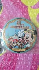 ディズニー TDS 11周年 トイストーリーマニア トイマニ カンバッジ ウッディ ミッキー ピクサー