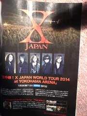 X JAPAN雑誌切り抜き
