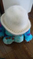 CECIL McBEE☆パール飾り帽子