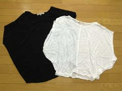 BLACK by moussy(ブラックバイマウジー)カットソー2枚セット