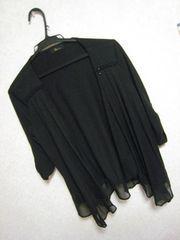 &BYカーデ♪七分袖♪裾シフォン♪
