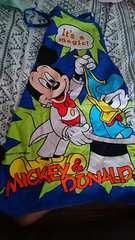 Mickey&ドナルドエプロン★size130