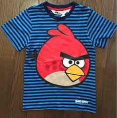 H&M ANGREY BIRDS Tシャツ 新品タグ 110 エイチアンドエム